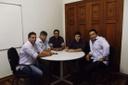 Reunião com o Presidente da COHAGRA