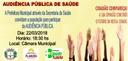 Convite - Audiência Pública de Saúde